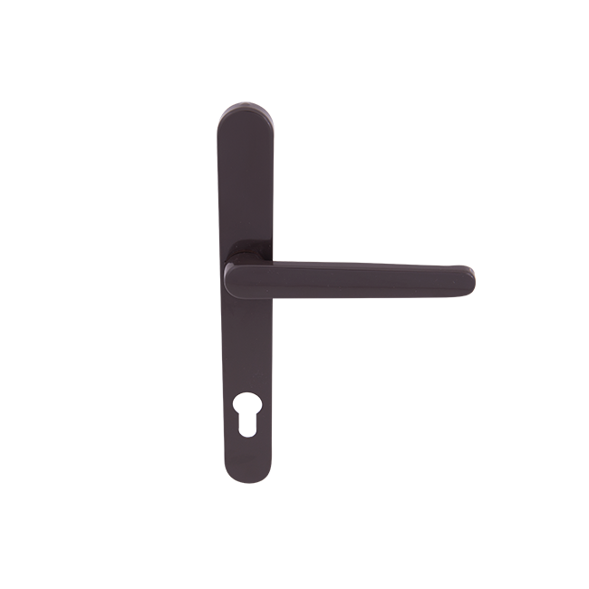 door handle for roller shutter (brown)