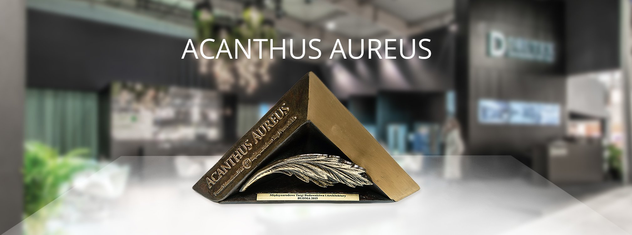 Drutex receives the Golden Acanthus award