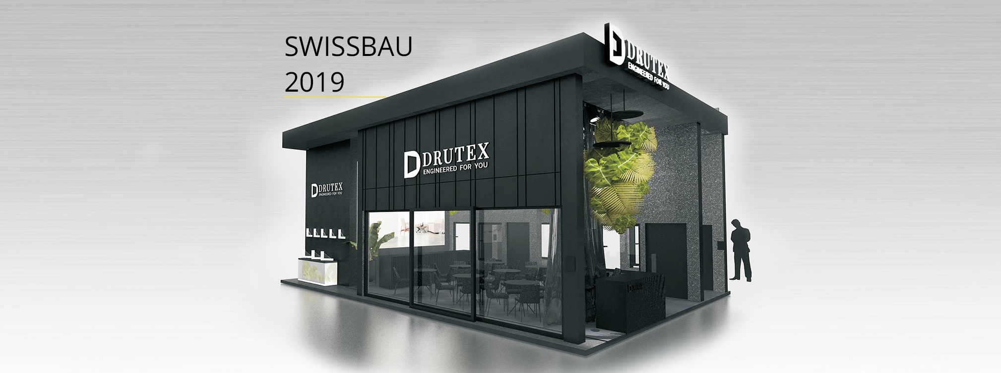 Drutex' debut at the SWISSBAU trade fair