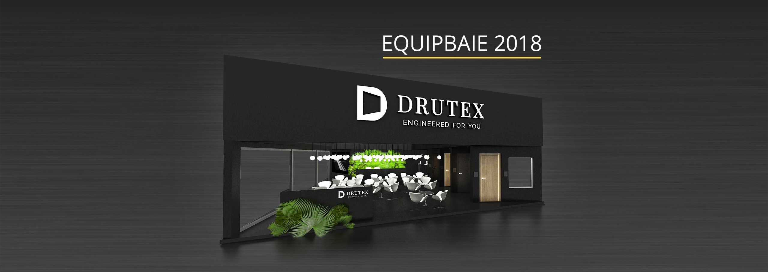 DRUTEX participera au salon EQUIPBAIE à Paris