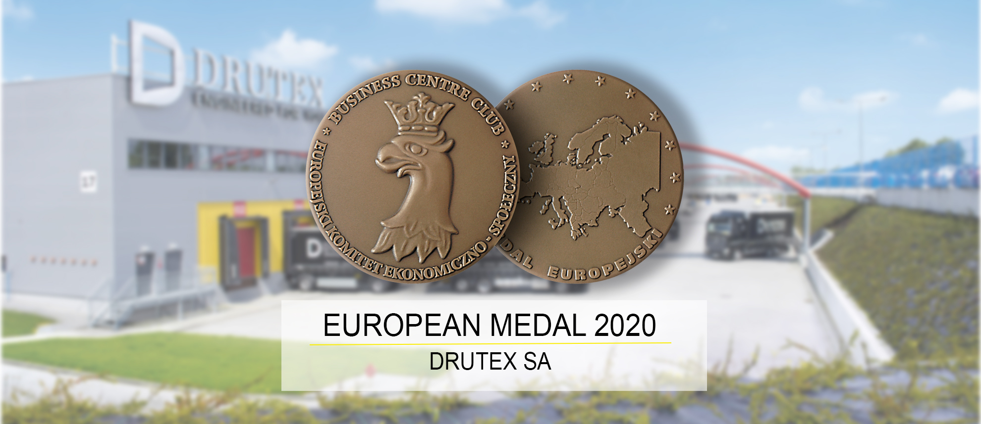 Drutex awarded the European Medal