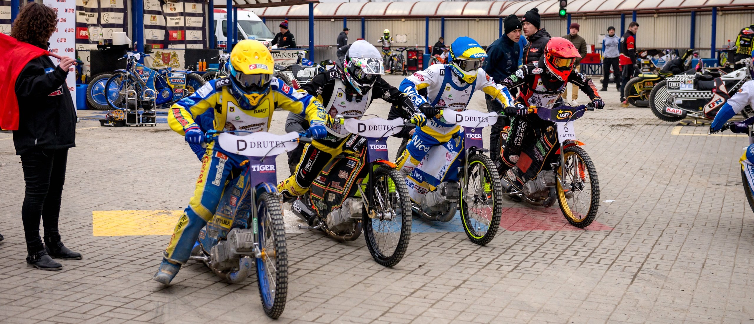 "Drutex - partner of the ""Zenon Plech zaprasza"" speedway tournament"