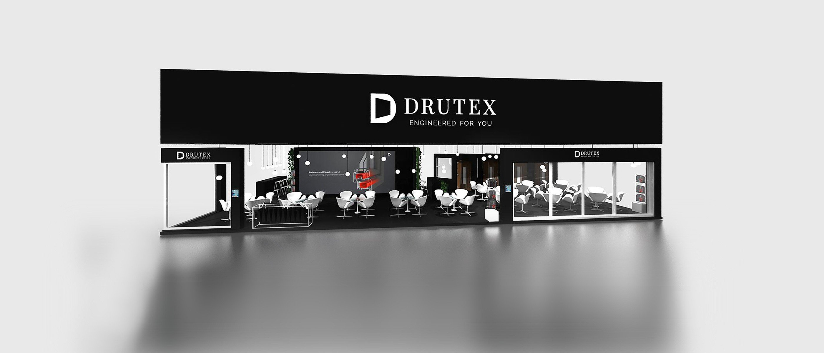 Smart technologies at  Drutex stand in Milan
