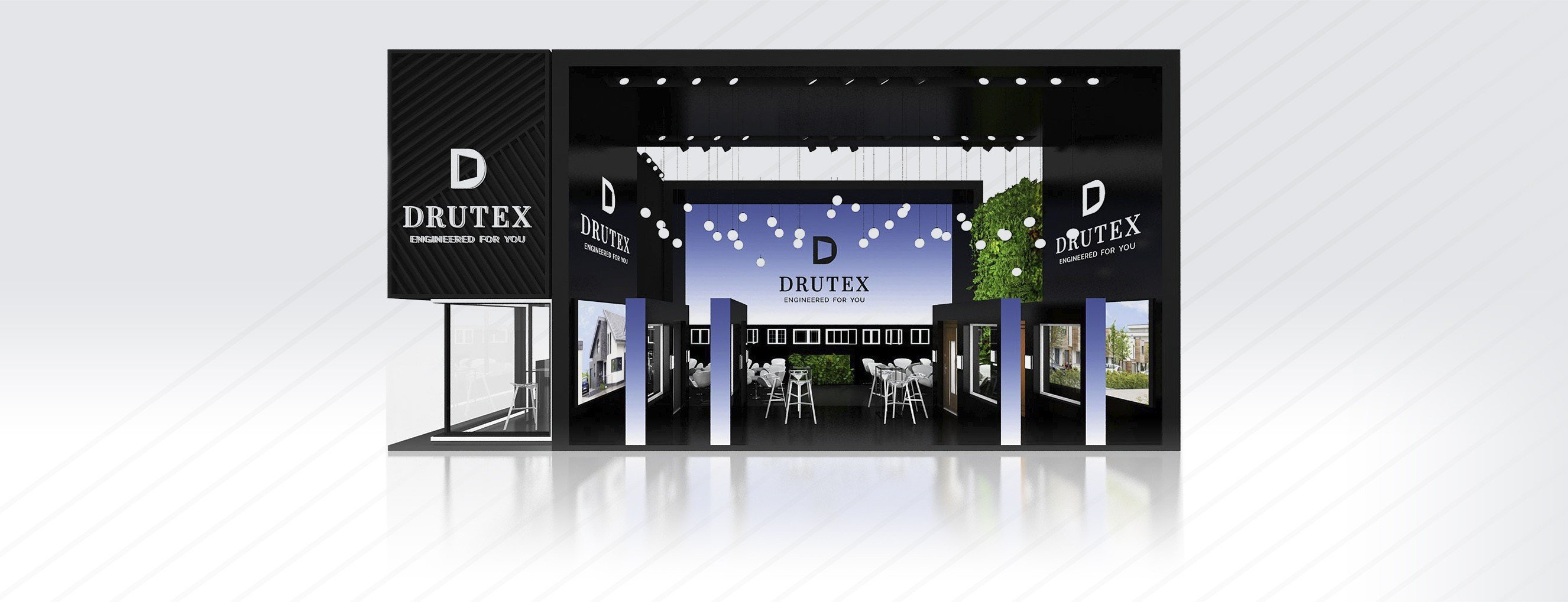 New Drutex products at the Munich trade fair.