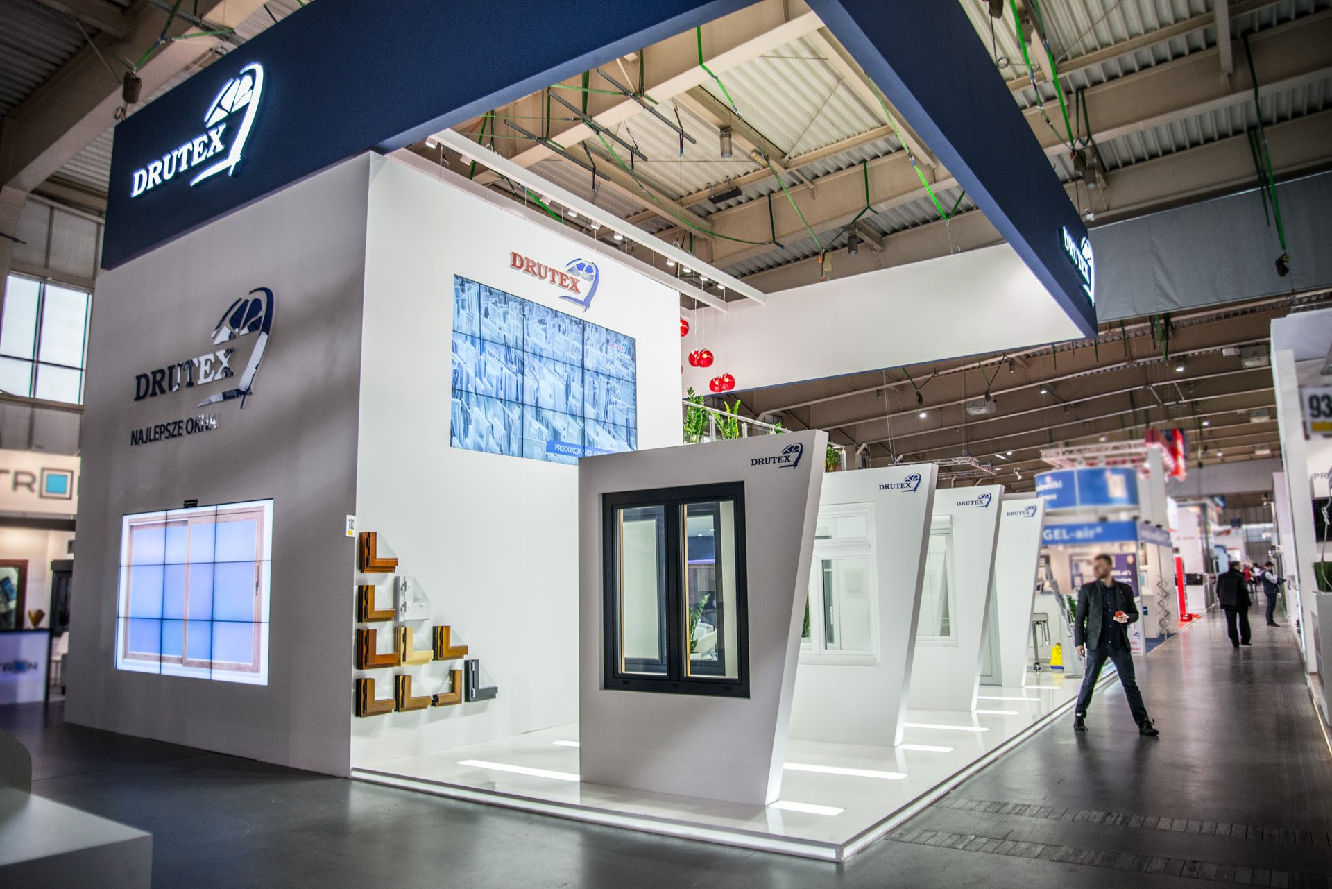 DRUTEX presents its new products at BUDMA trade fair