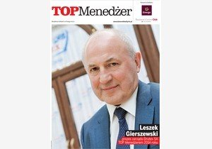 Leszek Gierszewski, awarded the title 'Top Manager 2014'