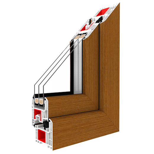 IGLO Energy Classic - PVC windows