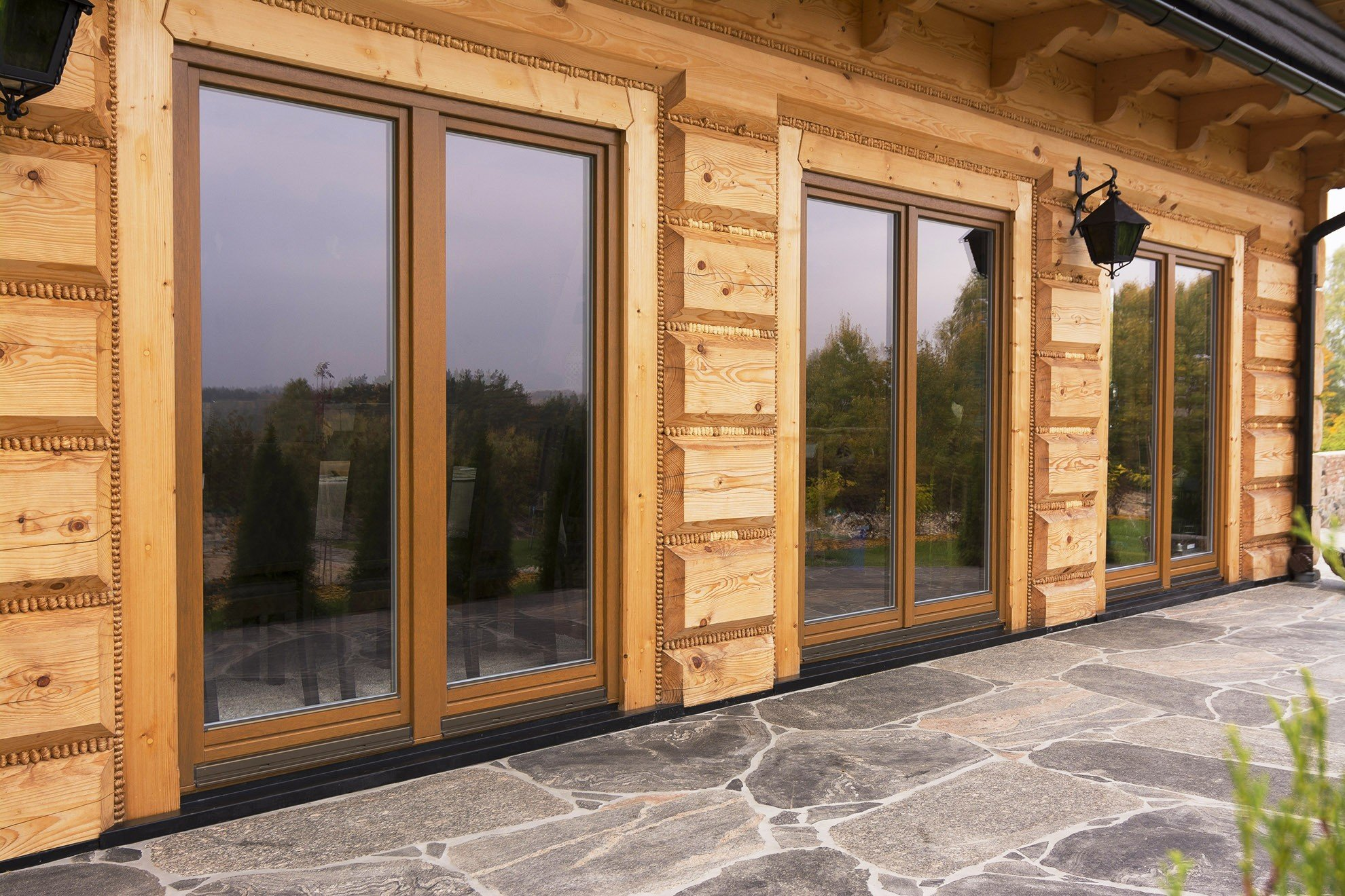 Drutex s a wooden windows softline for Wooden windows
