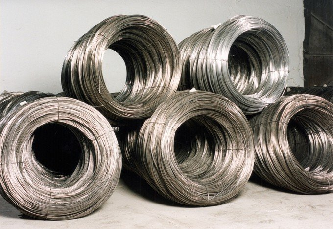 Production of  wire and wire products, nails and tin roofing-tiles