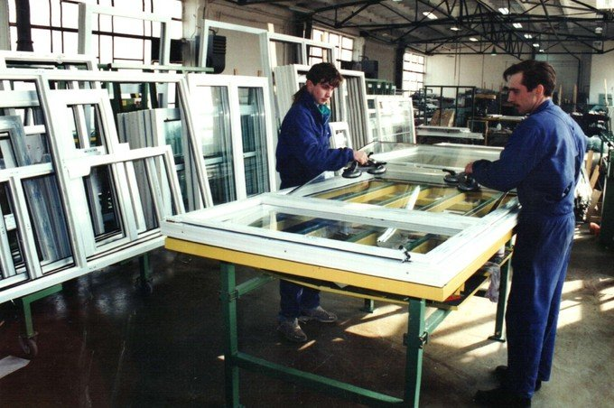The launch of PVC window and door woodwork production