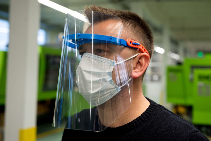 Drutex Produces Face Shields  Another Hospital Helped