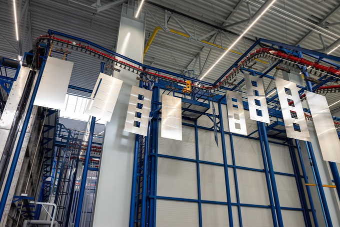 Drutex  Launches a State-of-the-Art  Powder Coating Line
